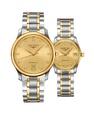 Đồng hồ đôi Longines Master L2.628.5.37.7 và L2.257.5.37.7 small