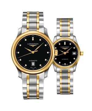 Đồng hồ đôi Longines Master L2.628.5.57.7 và L2.257.5.57.7