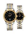 Đồng hồ đôi Longines Master L2.628.5.57.7 và L2.257.5.57.7 small