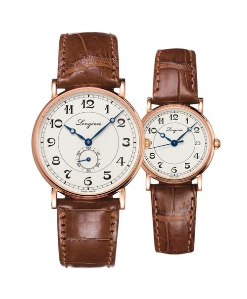 Đồng hồ đôi Longines Présence Heritage L4.785.8.73.2 và L4.267.8.73.2