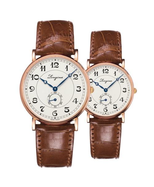 Đồng hồ đôi Longines Présence Heritage L4.785.8.73.2 và L4.767.8.73.2