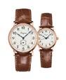 Đồng hồ đôi Longines Présence Heritage L4.785.8.73.2 và L4.267.8.73.2 small