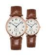 Đồng hồ đôi Longines Présence Heritage L4.785.8.73.2 và L4.767.8.73.2 small