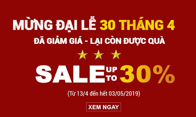 """{Sales up to 30%}: """"ĐÃ GIẢM GIÁ – LẠI CÒN ĐƯỢC QUÀ"""""""