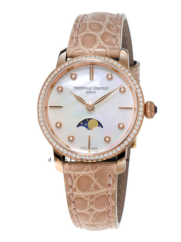 Đồng hồ Frederique Constant Slimline Moonphase FC-206MPWD1SD9