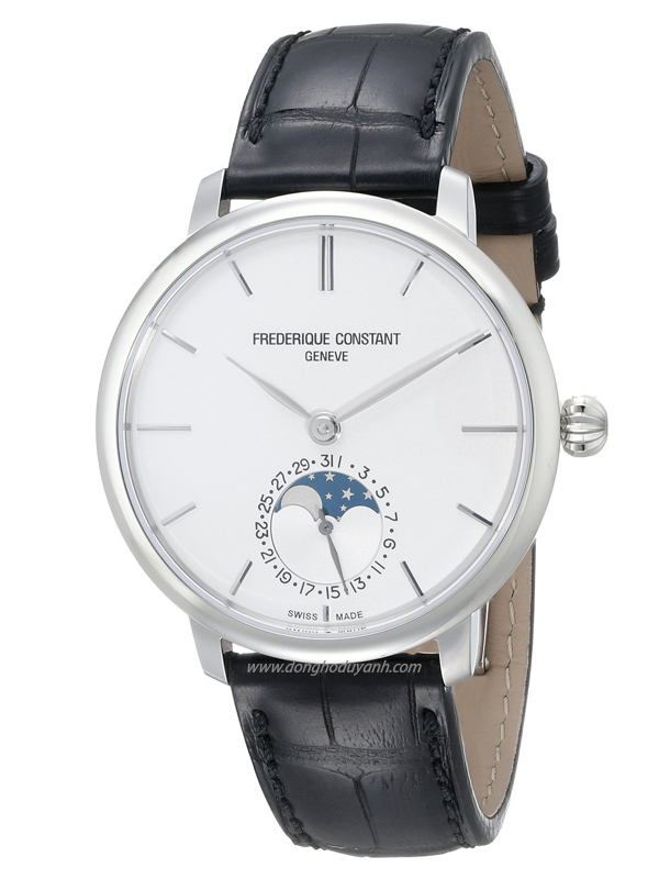 Đồng hồ Frederique Constant Slimline MoonphaseFC-703S3S6