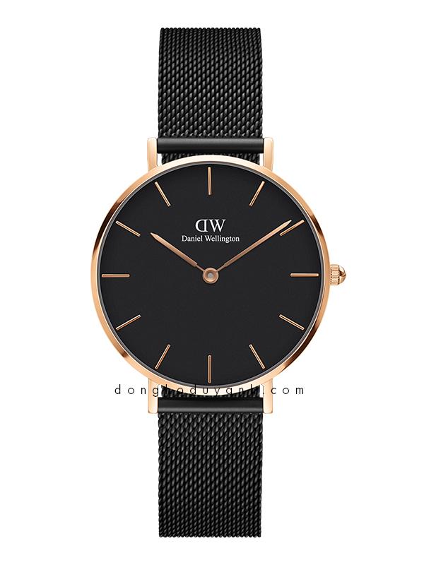 Đồng hồ Daniel Wellington Classic Petite Melrose Black DW00100201