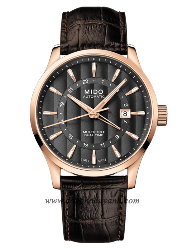 MIDO MULTIFORT DUAL TIME M038.429.36.061.00