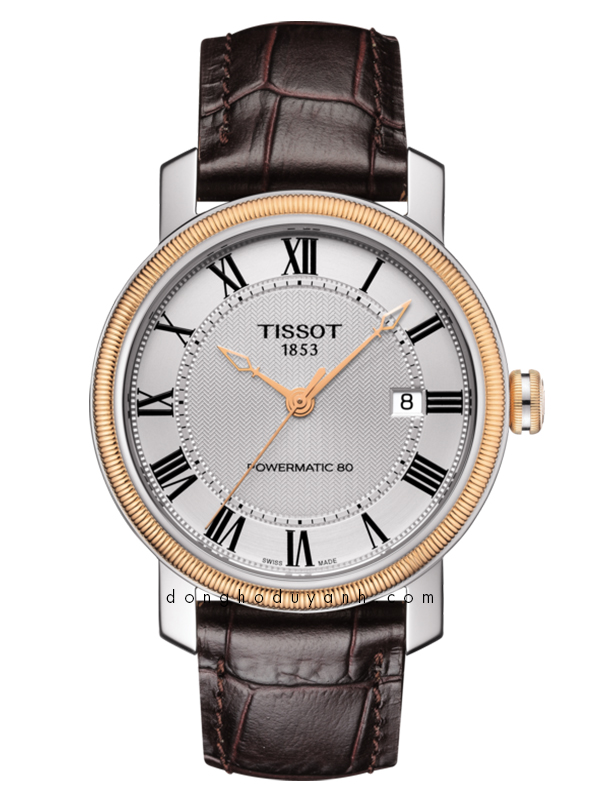 TISSOT BRIDGEPORT POWERMATIC 80 T097.407.26.033.00