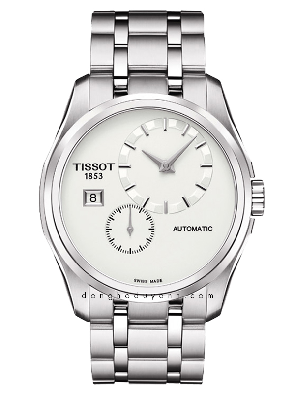 TISSOT COUTURIER GENT SMALL SECOND T035.428.11.031.00