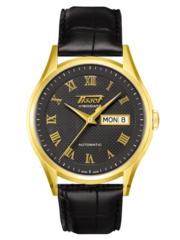TISSOT HERITAGE VISODATE AUTOMATIC GOLD T910.430.16.083.00
