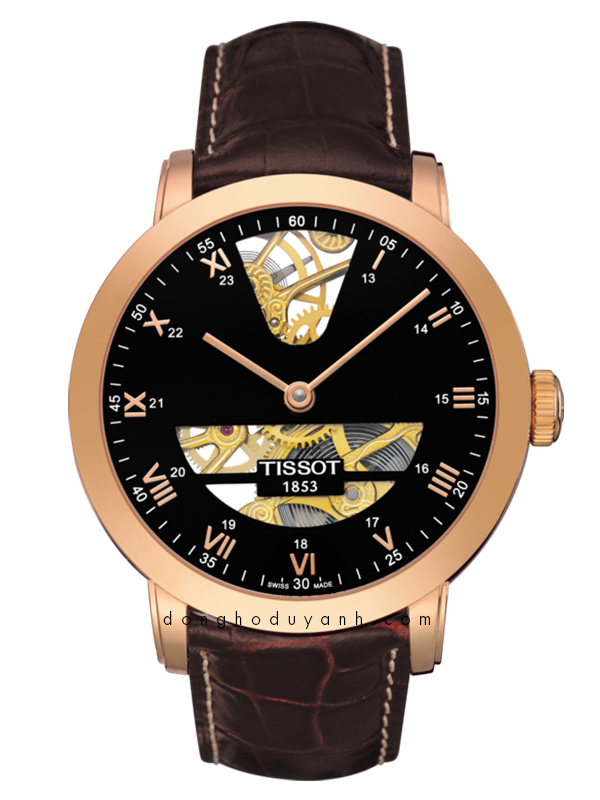TISSOT SCULPTURE LINE MECHANICAL T71.8.471.53