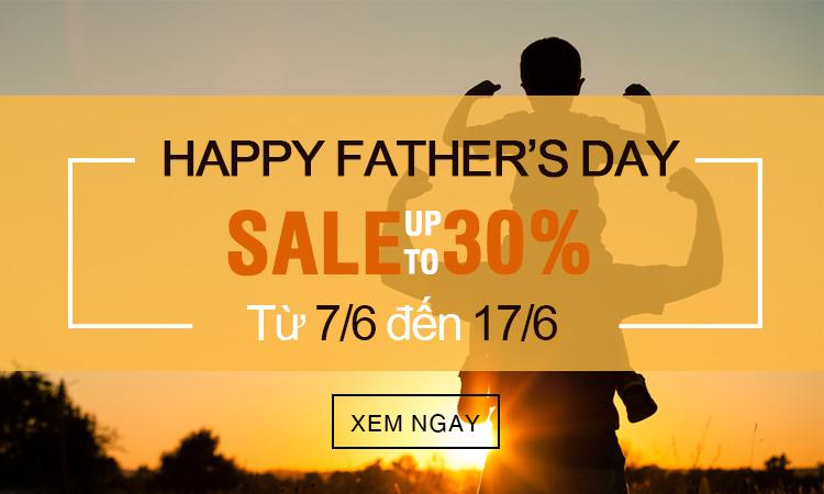 HAPPY FATHER'S DAY: KHUYẾN MÃI HẤP DẪN LÊN ĐẾN 30% CHỈ CÓ TẠI DUY ANH WATCH