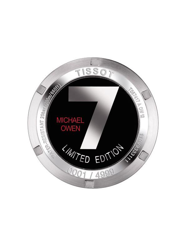 TISSOT PRS 200 MICHAEL OWENS 2012 T067.417.11.052.00