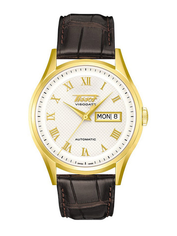 TISSOT HERITAGE VISODATE AUTOMATIC GOLD T910.430.16.033.00