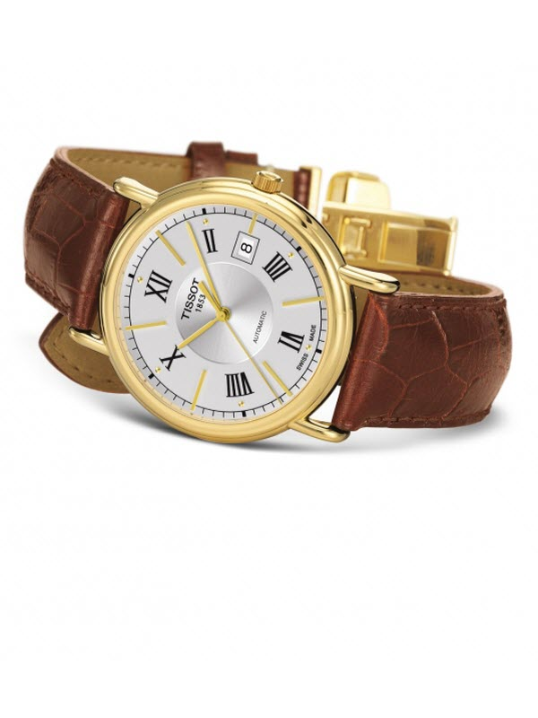 TISSOT T-GOLD CARSON AUTOMATIC T907.407.16.038.00