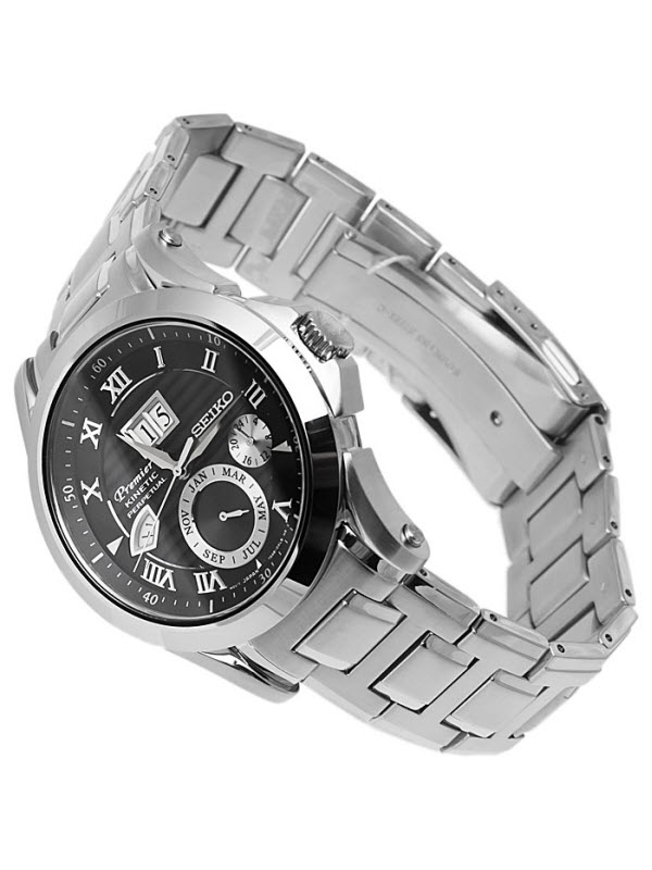 Đồng hồ SEIKO Premier Kinetic Perpetual SNP059P1