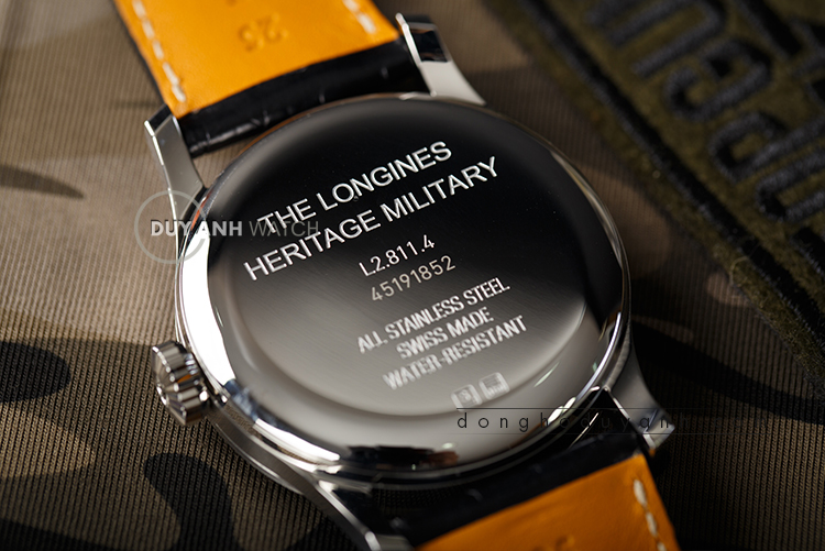 Longines Heritage Military L2.811.4.53.0
