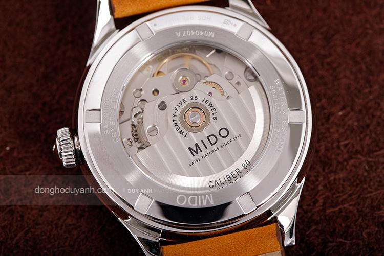 Bộ máy cơ MIDO Caliber 80