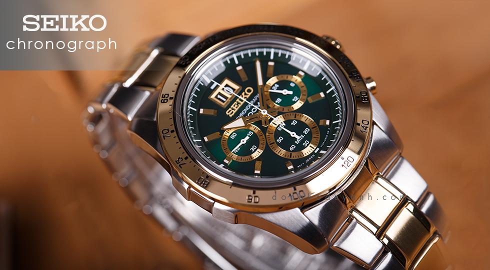 Đồng hồ QUARTZ CHRONOGRAPH