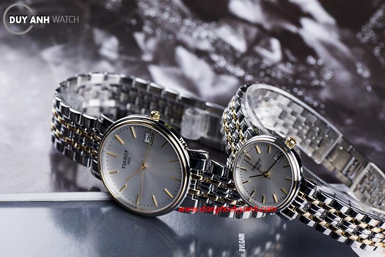 Đồng hồ đôi Tissot T52.2.481.31 và T52.2.281.31