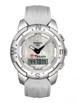 TISSOT T-Touch Danica Diamond LE Ladies Watch T33.7.858.88