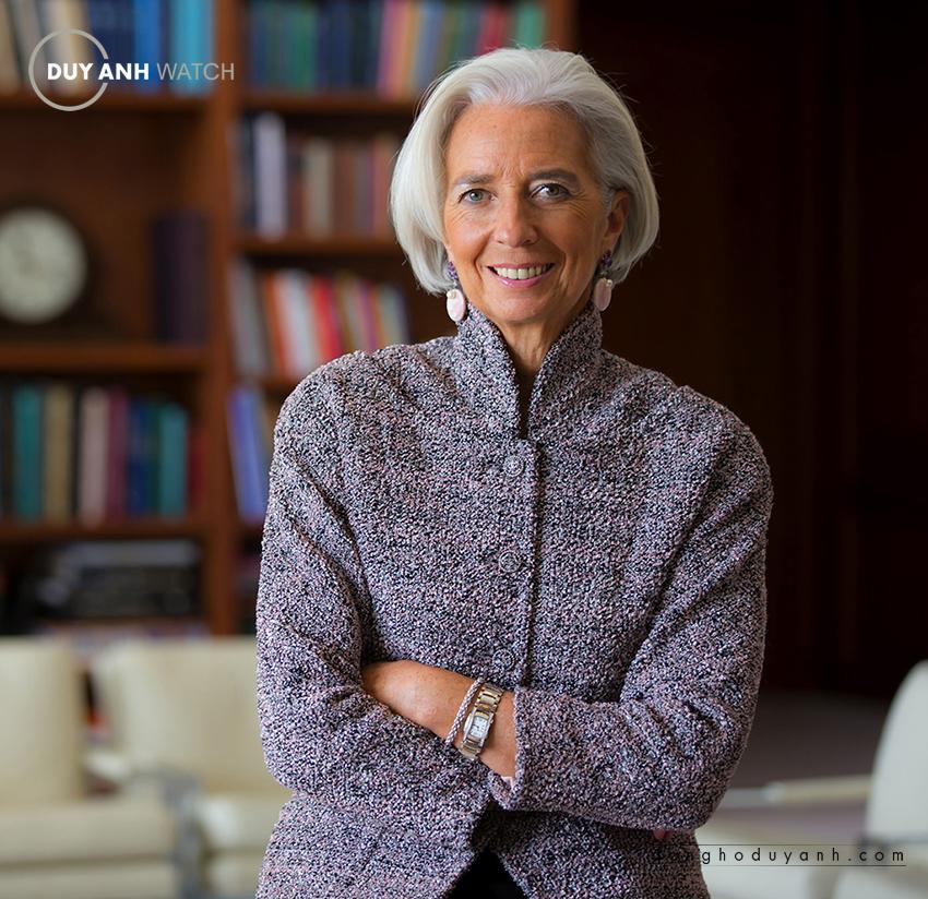Christine Lagarde - Cựu Bộ Trưởng Tài Chính Pháp